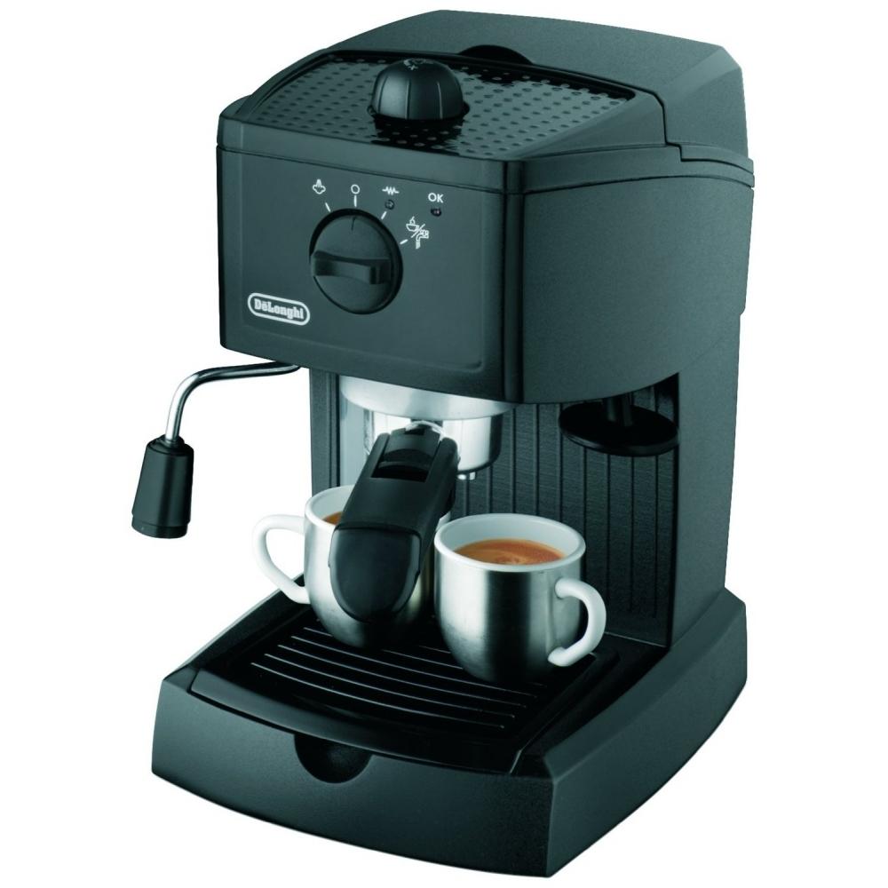 Delonghi EMKM 6.B Silber Elektrische Espresso-Kanne 450 Watt Keep-Warm System