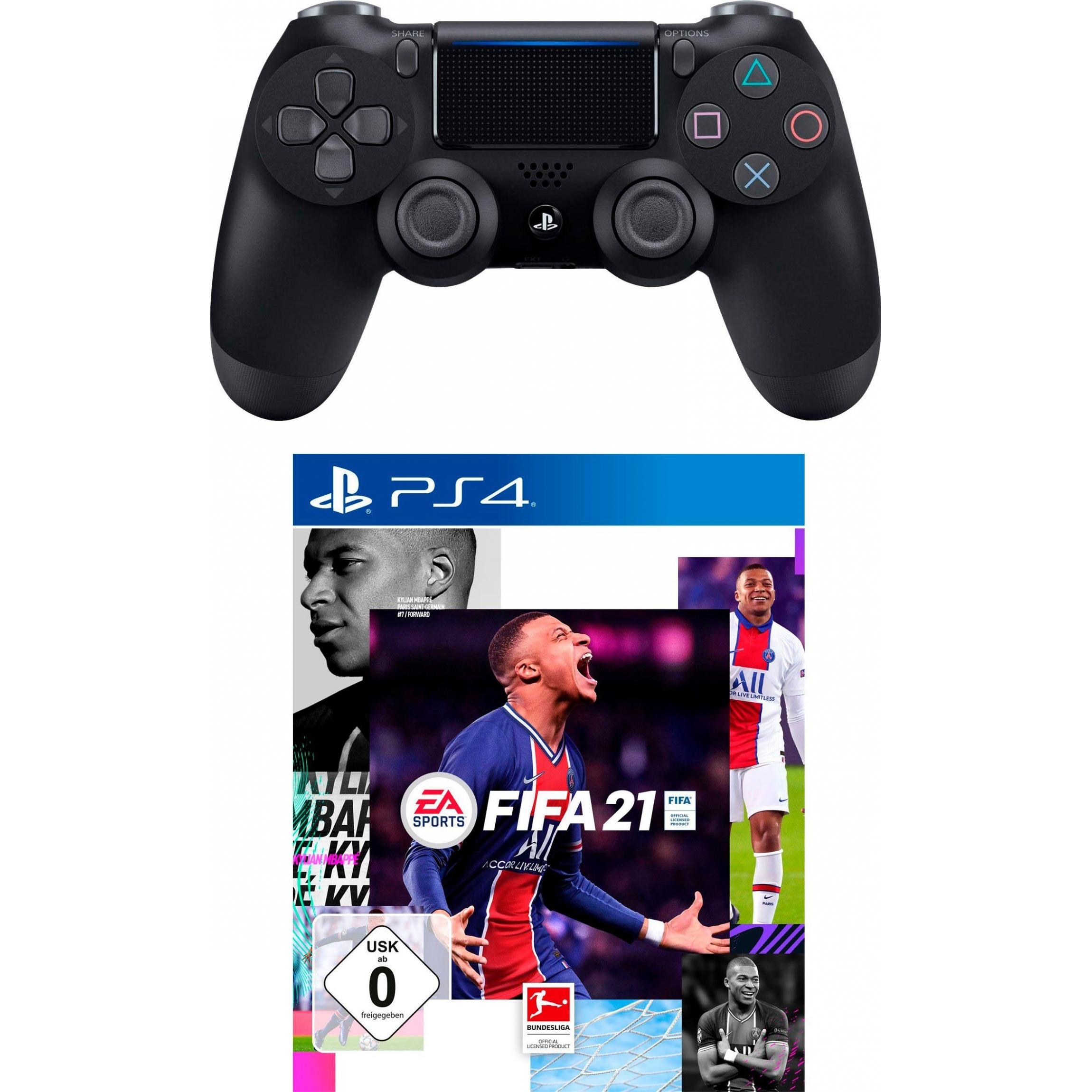 Sony ps4 DUALSHOCK 4 controller FIFA 21 (voucher) Bundle ...