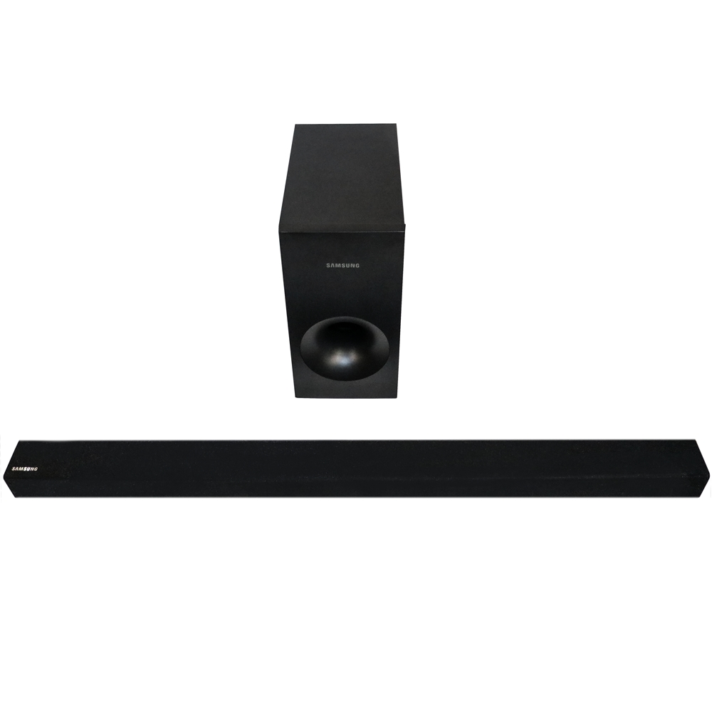 samsung hw k335 zg soundbar black schwarz bluetooth ebay. Black Bedroom Furniture Sets. Home Design Ideas