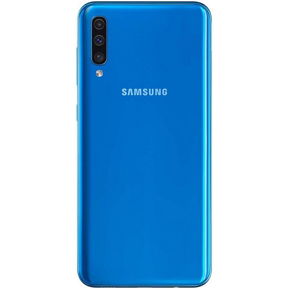 samsung a505 galaxy a50 128gb blau lte 4g android. Black Bedroom Furniture Sets. Home Design Ideas