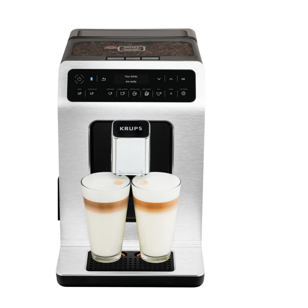 Details over Krups EA 892D Evidence Kaffeevollautomat One Touch Cappuccino